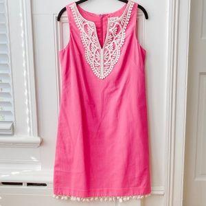 ELIZA J pink shift dress size 4